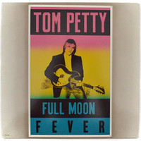 Vintage 80s Tom Petty Full Moon Fever Rock and Roll Album Record Vinyl LP