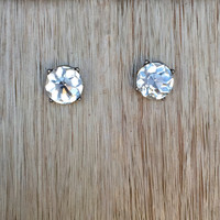 Crystal Love Earrings – Clear