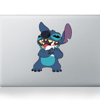 lovely stitch for mac sticker for macbook 13 pro air laptop notebook cover skin for macbook pro decal air vinyl notebook pro air