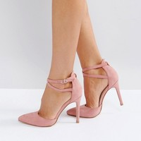 Truffle Collection Wide Fit Bow Trim Court Shoe at asos.com