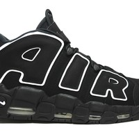 KU-YOU Nike Air More Uptempo Black White