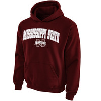 Mississippi State Bulldogs Youth Midsized Pullover Hoodie – Maroon - http://www.shareasale.com/m-pr.cfm?merchantID=7124&userID=1042934&productID=554816426 / Mississippi State Bulldogs