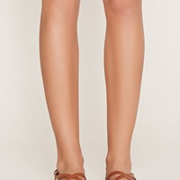 Crisscross Faux Leather Sandals | Forever 21 - 2000176889