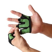 Breathable Anti-skid Weight lifting Gloves Hand Grippers Half Finger Gym Weightlifting Crossfit Fitness Barbell Palm Protector