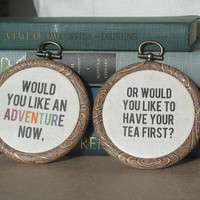Peter Pan Quote - Wall Art - Adventure Quote - JM Barrie