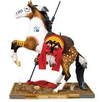 Trail of Painted Ponies War Cry Pony Figurine 8-1/2-Inch
