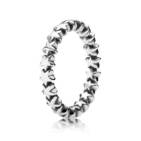 Star Trail Stackable Ring