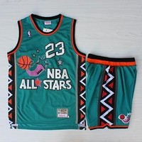NBA 1996 All Star Game Michael Jordan Basketball Jersey & Short Set