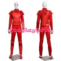New Custom Made High Quality America Movie The Hunger Games Part 2 Katniss Everdeen Red Cosplay Costume For Halloween Christmas