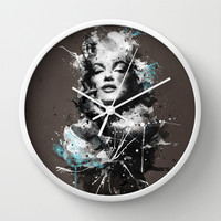 Marilyn. Wall Clock by Emiliano Morciano (Ateyo)
