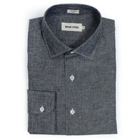 Charcoal Cotton and Linen Hyde