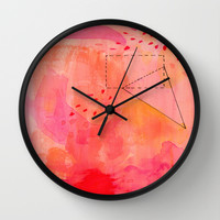 Figure 1 Wall Clock by Messy Bed Studio