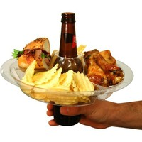 The Go Plate Reusable Food & Beverage Holder: 42 Plates