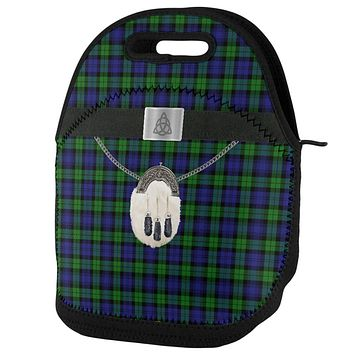 St. Patricks Day Kilt Black Watch Scottish Plaid Lunch Tote Bag
