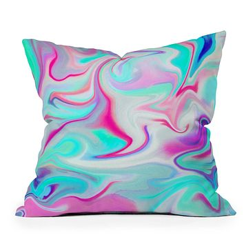 Jacqueline Maldonado Liquid 3 Throw Pillow