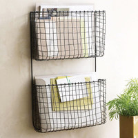 Modern Age Double Wall Organizer