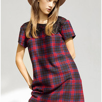 ARTS THREAD X UO Nicolette Plaid Dress - Urban Outfitters