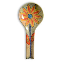 Roma Amor Spoon Rest with Sunflower
