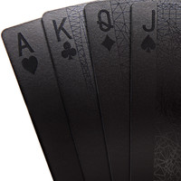 Deck of Black Playing Cards