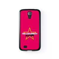 Celebrity Hater Black Hard Plastic Case for Samsung Galaxy S4 by Chargrilled