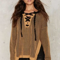 Glamorous Texture Later Ribbed Sweater