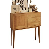 White Oak Solid Wood Cabinet