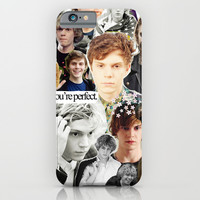 evan peters iPhone & iPod Case by CALM OCEANS™