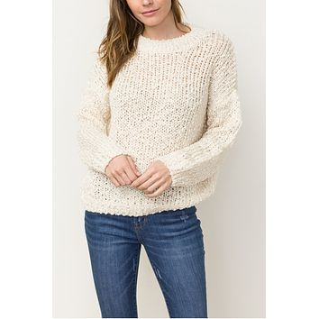 Claire Ivory Sweater