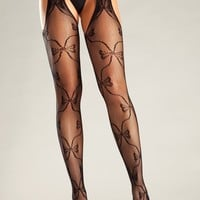Be Wicked Lingerie BW669B Pantyhose
