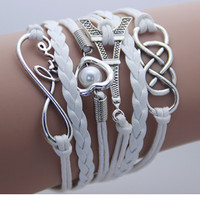 Multilayer Leather Bracelet Fashion Jewelry