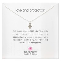 Dogeared Love & Protection Pendant Necklace | Nordstrom