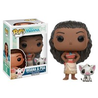 Moana and Pua Pop! Vinyl Figures