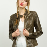 Distressed Jacket (brown)