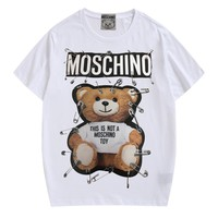 HCXX 19July 075 Moschino Pin Teddy Bear Classic T-shirt Short Sleeve