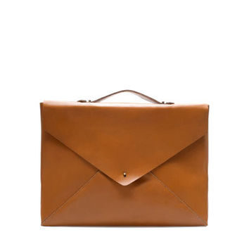 LEATHER BRIEFCASE - Bags - Man   ZARA United States