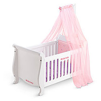 American Girl® Accessories: Sweet Dreams Wooden Crib & Canopy