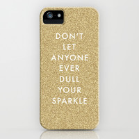 Sparkle iPhone & iPod Case by Amber Barkley