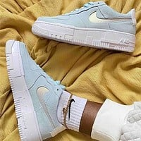 Nike Air Force 1 Low rise casual skateboarding shoes