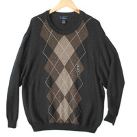 Dockers Big and Tall Men's Argyle Golf Sweater – New!