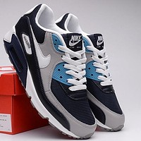 Nike Air Max 90 Popular Women Men Casual Air Cushion Running Sports Shoes Sneakers I/A