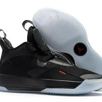 DCCK Air Jordan XXXIII Basketball Shoes -Black