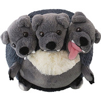 Mini Squishable Cerberus: An Adorable Fuzzy Plush to Snurfle and Squeeze!
