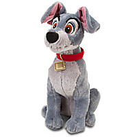 Tramp Plush - Lady and the Tramp - 16'' | Disney Store