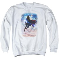 Supergirl - Endless Sky Adult Crewneck Sweatshirt Officially Licensed Apparel