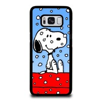 SNOOPY DOG CHRISTMAS Samsung Galaxy S8 Case Cover