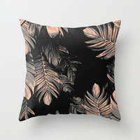 ~tropical strange nature Throw Pillow by franciscomffonseca