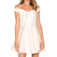 C/MEO x REVOLVE Your Song Dress in Cream
