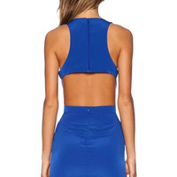 Sleeveless Bodycon Cutout Mini Dress