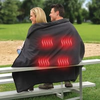 The Cordless Heated Stadium Blanket