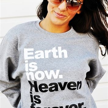 Earth Now Heaven Forever-Oxford